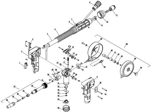 mag spool gun  handy welding machinery  north pulling